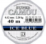 Żyłka super camou ice blue DRAGON 0,12mm 40m