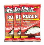 Zanęta 3000 Super Roach and Silver Fish 1kg SENSAS