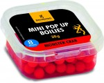Mini Pop-up, wstepnie nawiercona czerwone Monster Krab 8mm 30g