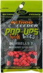 POP-UPS HOOK BAITS  DUMBELLS  RASPBERRY & HALIBUT 7x10mm