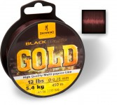 BLACK MAGIC GOLD MONO 610M 4,35KG CIEMNOBRAZOWA 0,23MM