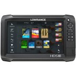 Lowrance HDS-9 Carbon ROW with Med/High/StructureScan 3D Bundle