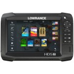 Lowrance HDS-7 Carbon ROW with Med/High/StructureScan 3D Bundle: