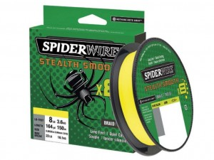 Plecionka Spiderwire Stealth 8 Smooth  150m 0.11 mm 10,30kg.YELLOW