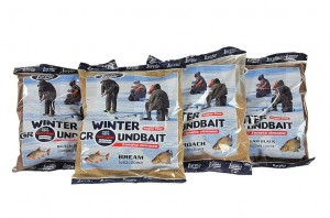 Zanęta Zimowa Lorpio Winter GroundBait Płoć BLACK