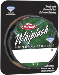 Berkley Whiplash GREEN 0,08 mm / 110 m